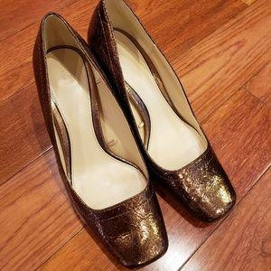 Zara block heels size 36